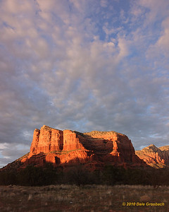 Sundown - Courthouse Rock